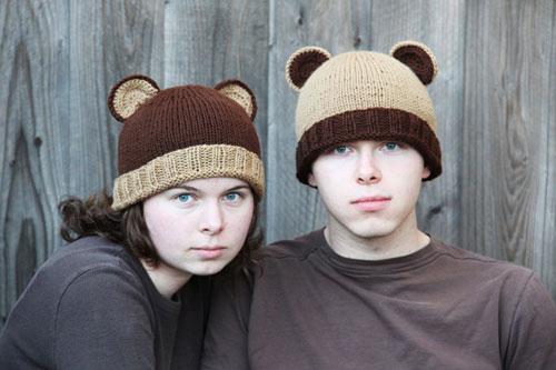 Bear Ears Bear Hat Pattern